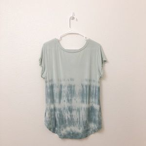 American Eagle Outfitters Tops - American Eagle T-Shirt Green Tie-dye Pattern M